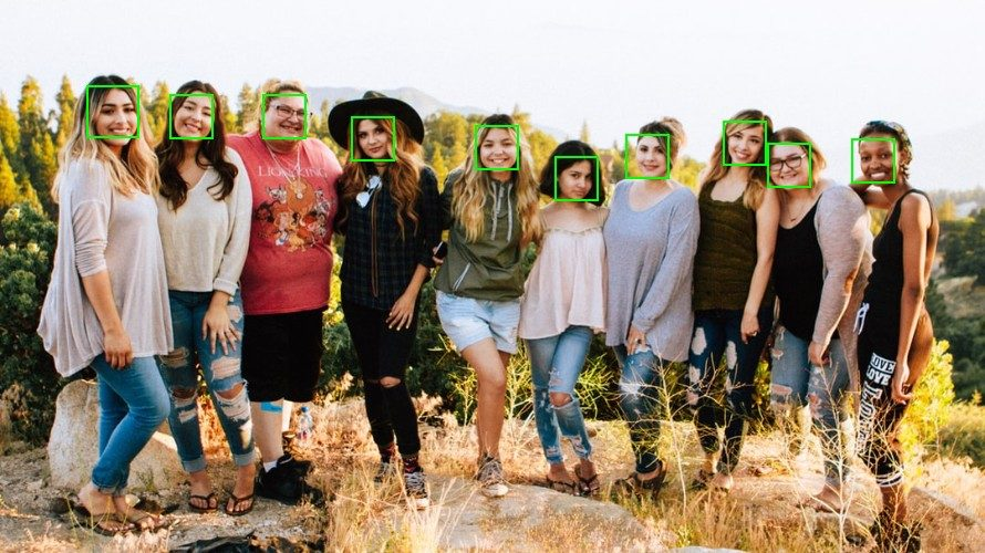 Python – 顔認識ライブラリ Face Recognition で顔検出を行う方法